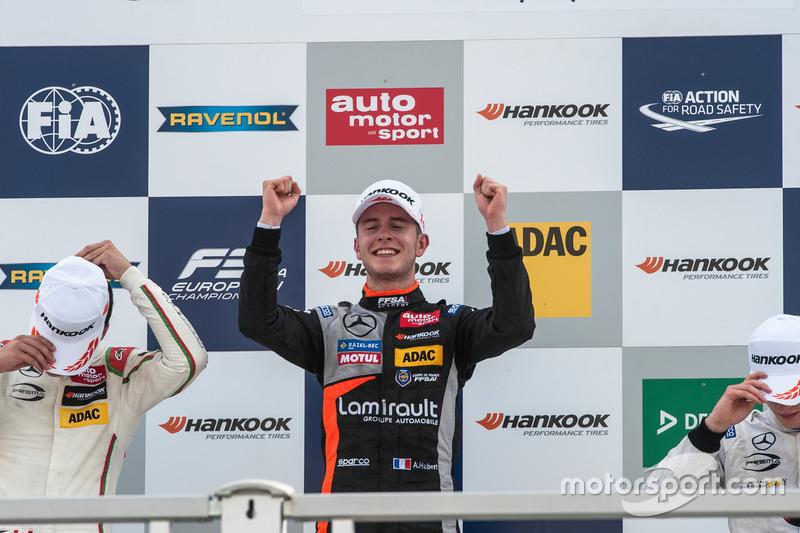 Podyum: Anthoine Hubert, Van Amersfoort Racing Dallara F312 - Mercedes-Benz