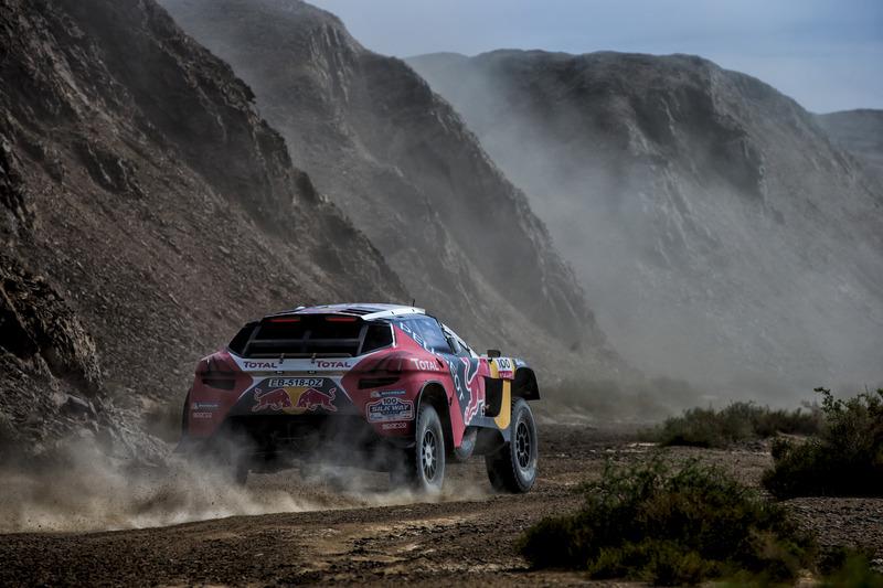 Стефан Петерансель и Жан-Поль Котре, Peugeot Total