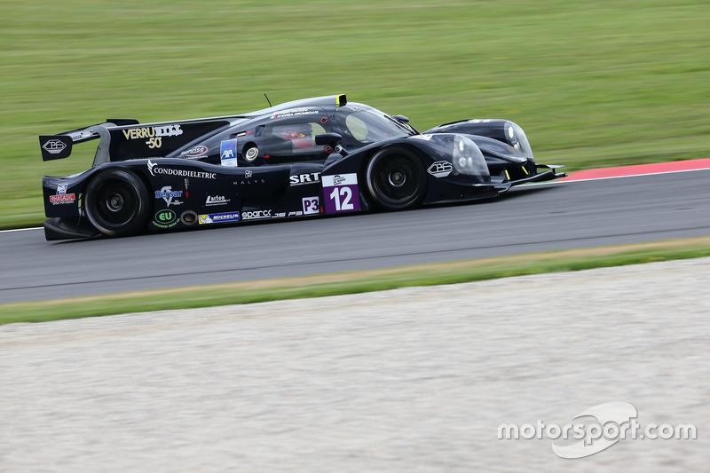 #12 Eurointernational Ligier JSP3 Nissan: Andrea Dromedari, Fabio Mancini, Roman Rusinov