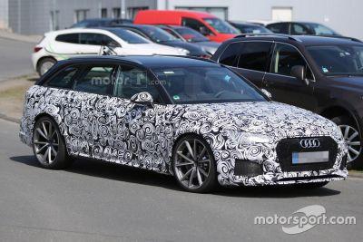 Spyshots de l'Audi RS4 Avant
