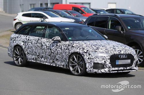 Audi RS4 Avant, foto spia