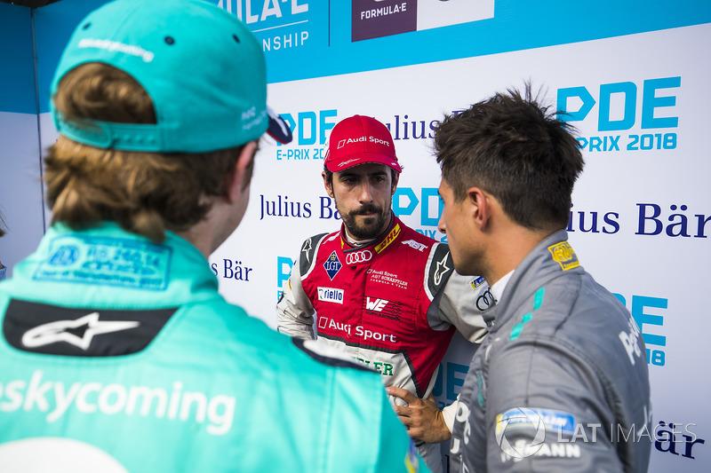 Oliver Turvey, NIO Formula E Team, Lucas di Grassi, Audi Sport ABT Schaeffler, Mitch Evans, Jaguar Racing