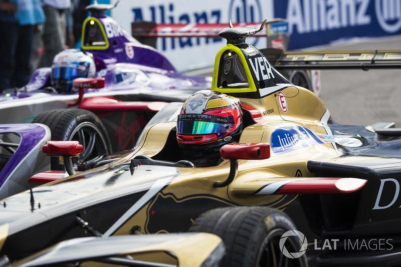 Jean-Eric Vergne, Techeetah, y Sam Bird, DS Virgin Racing