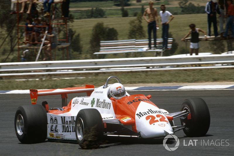 1. Andrea de Cesaris (208 GPs)