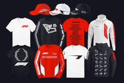 F1 logo proposed merchandise designs