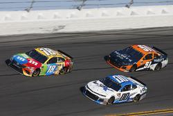 Kyle Busch, Joe Gibbs Racing Toyota Jeffrey Earnhardt, StarCom Racing Chevrolet Camaro Justin Marks, Rick Ware Racing, HARRY'S Chevrolet Camaro