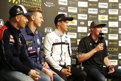 Sébastien Loeb, Team Peugeot Total, Johan Kristoffersson, PSRX Volkswagen Sweden, Mattias Ekström, EKS Audi Sport, Guerlain Chicherit, GC Competition