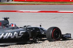 Dreher: Romain Grosjean, Haas F1 Team VF-17