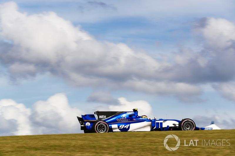 15. Pascal Wehrlein, Sauber C36