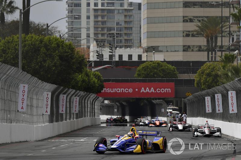 Suasana IndyCar Long Beach 2018