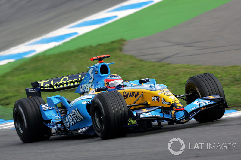 17. 2005 - Fernando Alonso, Renault (70,0%)