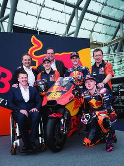 Bradley Smith, Red Bull KTM Factory Racing, Pol Espargaro, Red Bull KTM Factory Racing, Mika Kallio,
