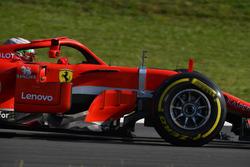 Antonio Giovinazzi, Ferrari SF71H with aero sensor