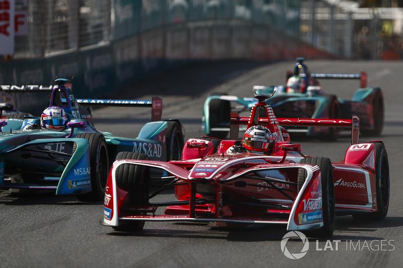 Jérôme d'Ambrosio, Dragon Racing, Tom Blomqvist, Andretti Formula E Team, Antonio Felix da Costa, Andretti Formula E Team