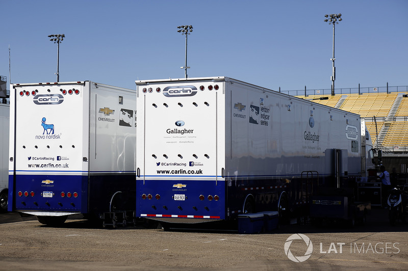 Carlin Racing transportes