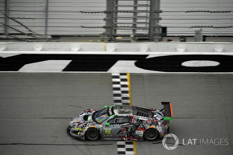 #86 Michael Shank Racing Acura NSX, GTD: Кетрін Легг, Альваро Паренте, Трент Хіндман, Ей. Дж. Альмендінгер