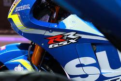 Detalle de la Suzuki Gixxer