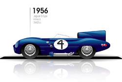 1956 Jaguar D-Type