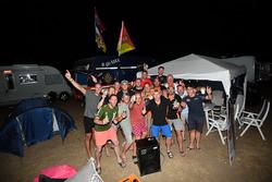 Tifosi in campeggio