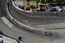 Alexander Rossi, Andretti Autosport Honda, Josef Newgarden, Team Penske Chevrolet