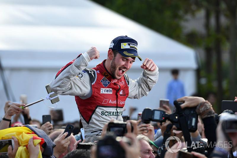 Ganador, Daniel Abt, Audi Sport ABT Schaeffler.