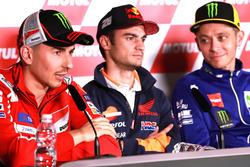 Jorge Lorenzo, Ducati Team, Dani Pedrosa, Repsol Honda Team, Valentino Rossi, Yamaha Factory Racing