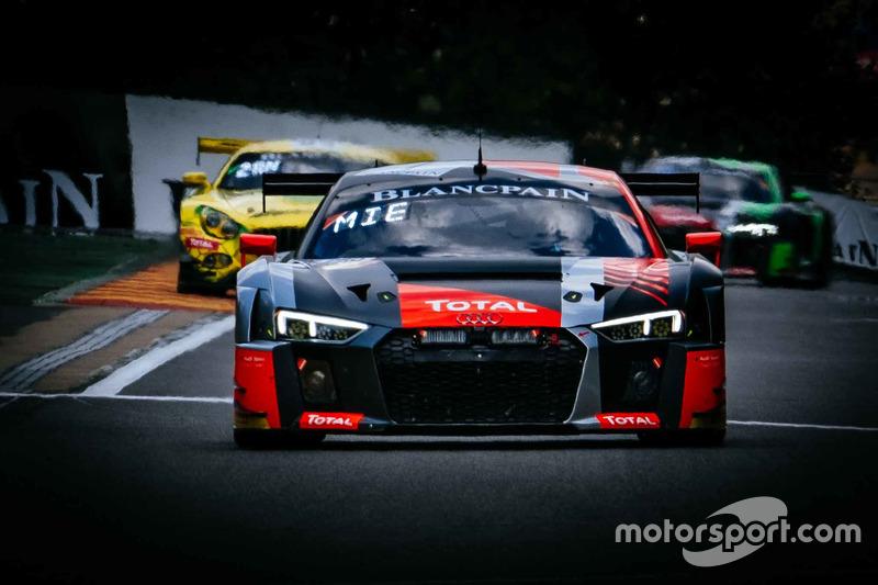 #1 Belgian Audi Club Team WRT Audi R8 LMS: Alex Riberas, Christopher Mies, Dries Vanthoor