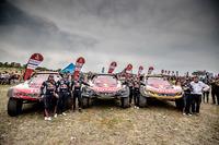 Стефан Петрансель, Карлос Сайнс, Сіріль Депре, Peugeot Sport