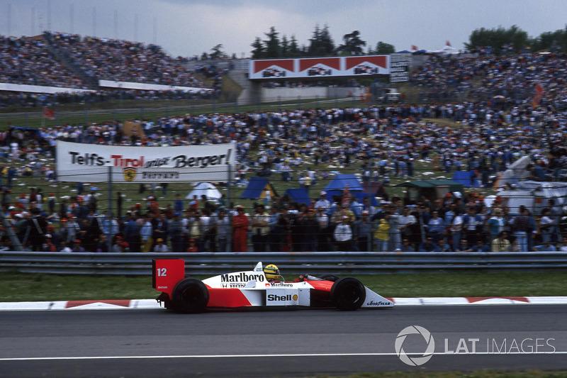 San Marino 1988: Ayrton Senna, McLaren MP4/4
