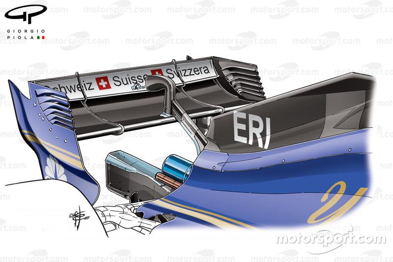 Новий капот Sauber C36