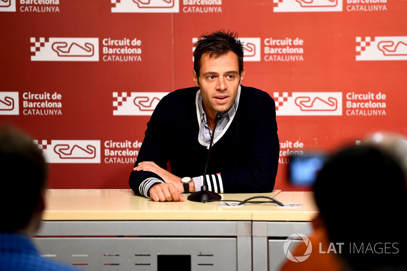 Frank Arthofer, F1 Director of Digital, talks about the launch of F1 TV during a Press Conference