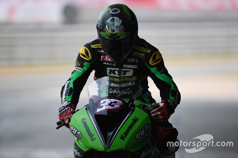 SS600: Ahmad Yudhistira, Manual Tech KYT Kawasaki Racing