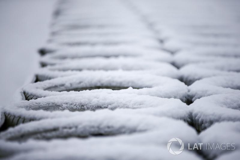 Neumáticos de protección con nieve