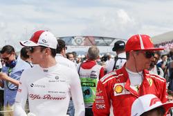 Шарль Леклер, Sauber, Кімі Райкконен, Ferrari