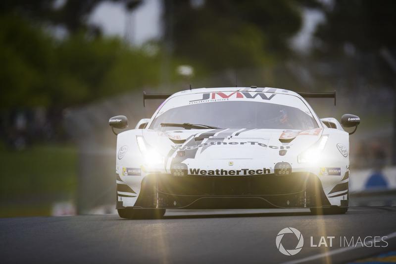 9. LMGTE-Am: #84 JMW Motorsport, Ferrari 488 GTE