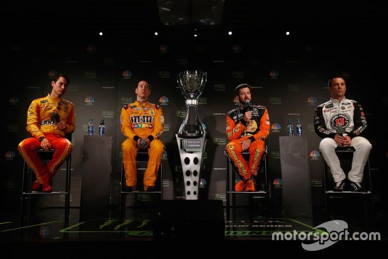 2018: Joey Logano, Kyle Busch, Martin Truex Jr., Kevin Harvick