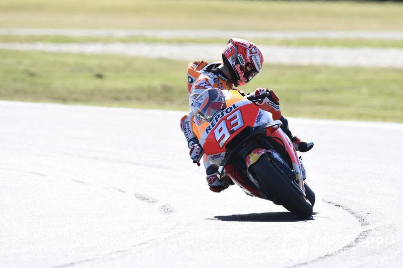 Marc Marquez, Repsol Honda Team, alami kerusakan motor