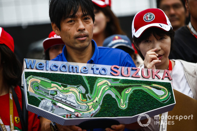 A fan with a model of the circuit
