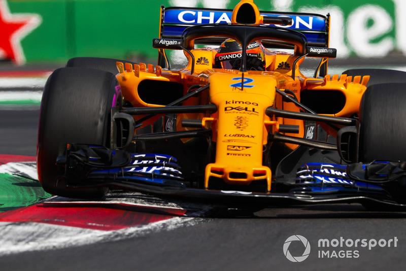 P8: Stoffel Vandoorne, McLaren MCL33