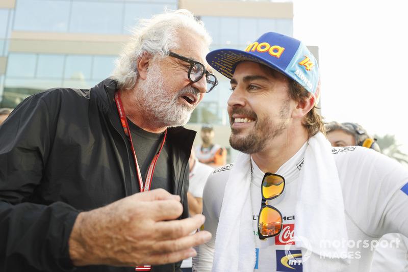 Фернандо Алонсо, McLaren, Флавіо Бріаторе