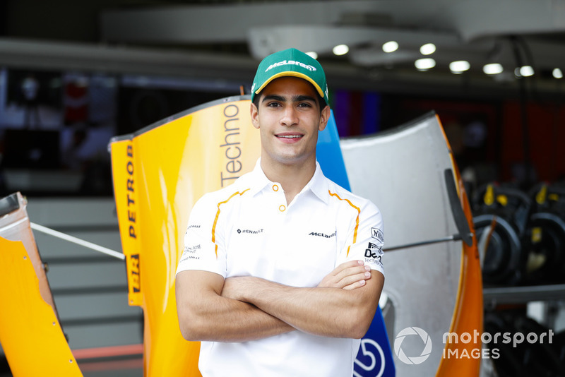 Sergio Sette Camara, pembalap tes McLaren