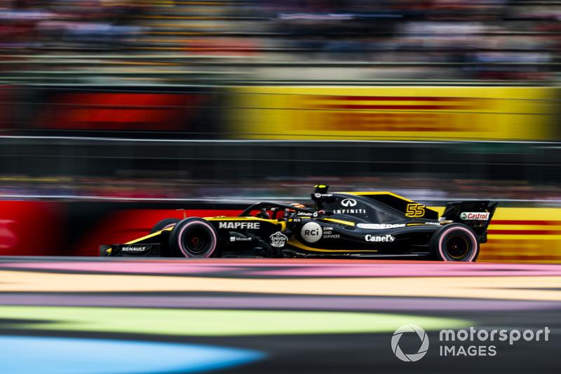 8: Карлос Сайнс, Renault Sport F1 Team R.S. 18, 1'16.084