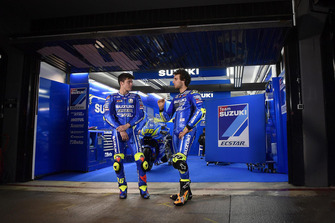 Хоан Мір та Алекс Рінс, Suzuki Ecstar MotoGP Team, Валенсія