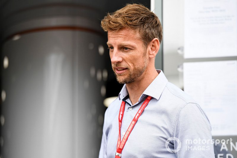 Le Champion du monde 2009 Jenson Button