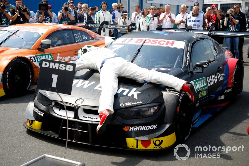 Race winner Bruno Spengler, BMW Team RMG