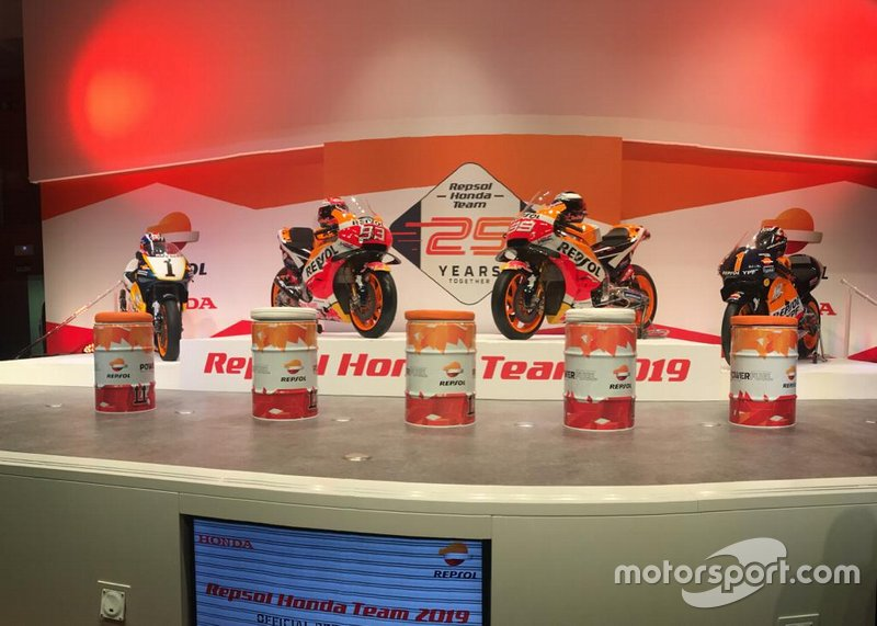 Las motos de Mick Doohan, Marc Márquez, Jorge Lorenzo y Alex Crivillé, Honda HRC