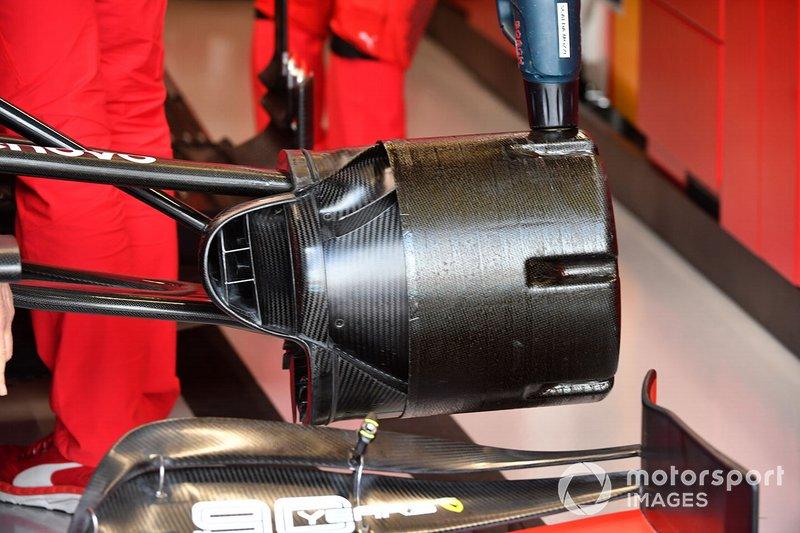 Ferrari SF90: Aufhängung vorne