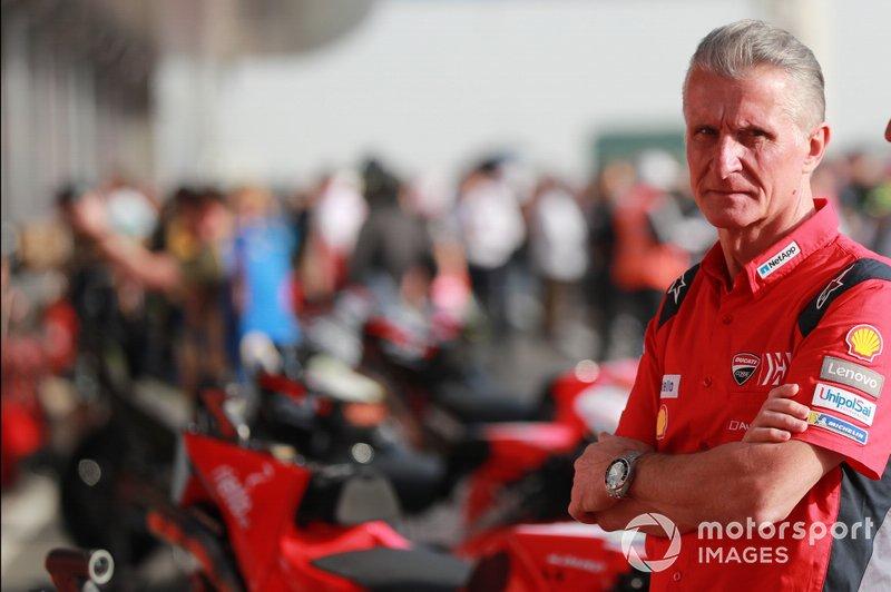 Paolo Ciabatti, direttore sportivo, Ducati Corse