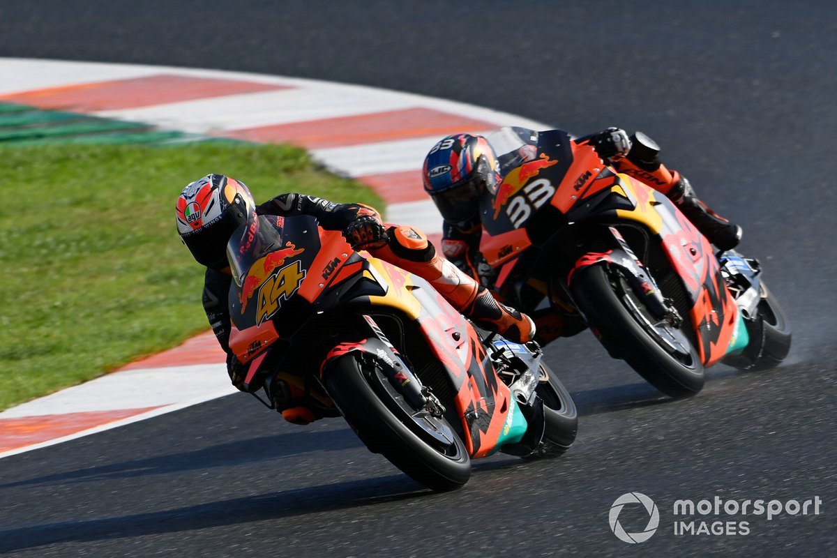 Brad Binder, Red Bull KTM Factory Racing, Pol Espargaro, Red Bull KTM Factory Racing