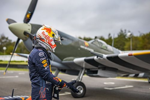 Red Bull Racing British filming day